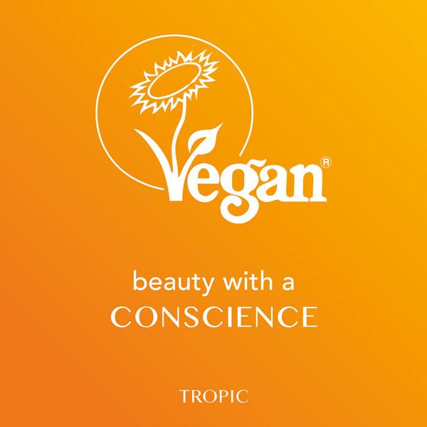 Tropic Skincare is Vegan
